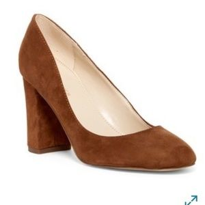 Marc Fisher LTD Isabelle Pump Cognac Suede